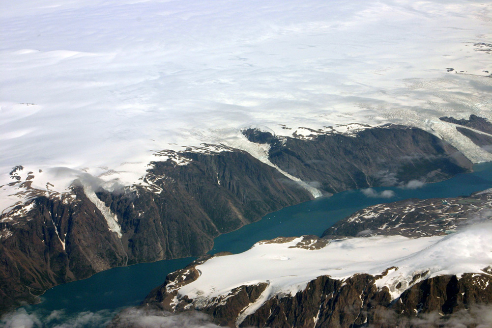 Greenland Ice Sheet Fjord