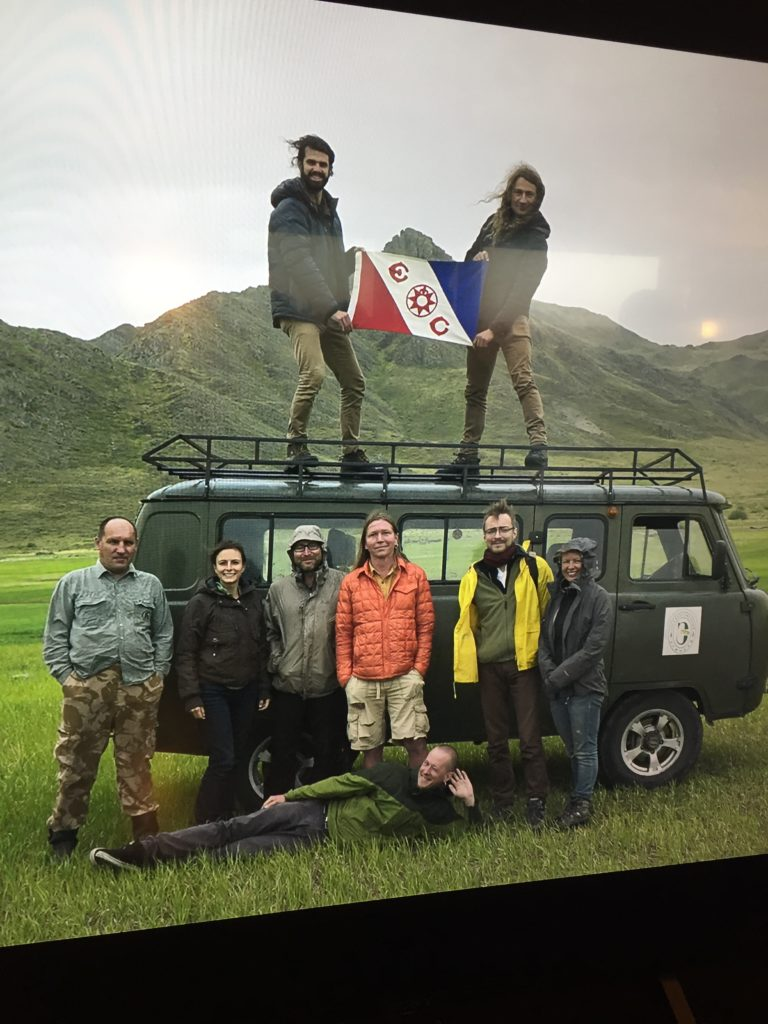 Trevor and his expedition partners