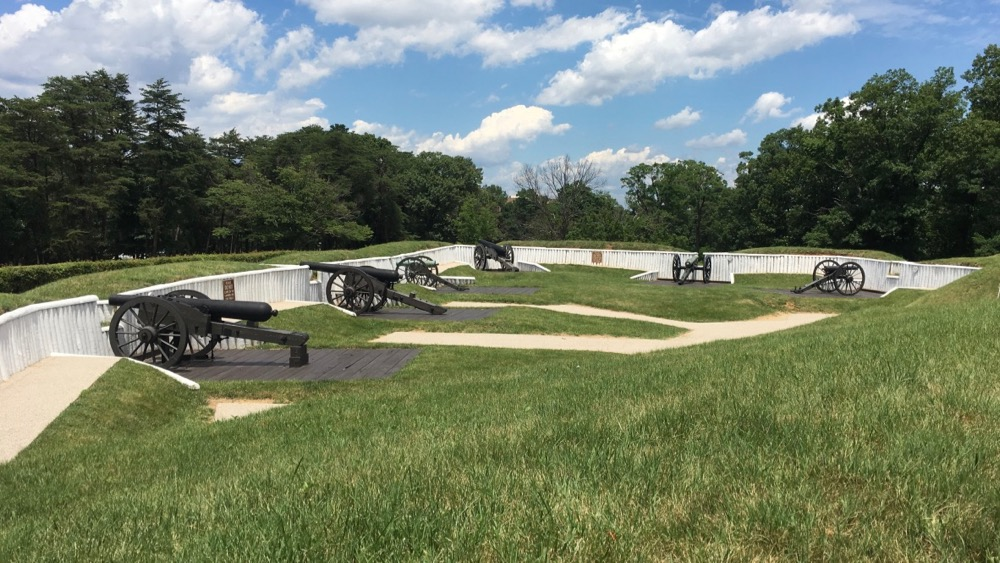 Fort Ward Park cannons