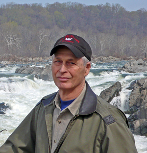 John Maclean at Great Falls National Park, Va.