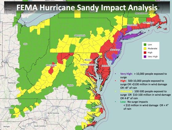 Fema-Surge Sandy with text