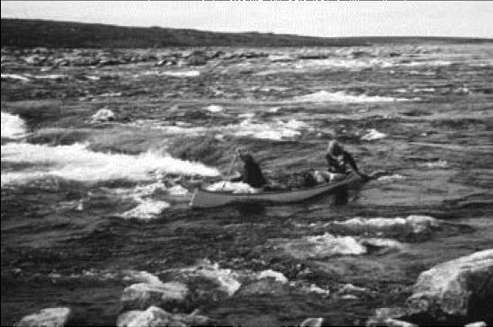 Lentz, John; canoe